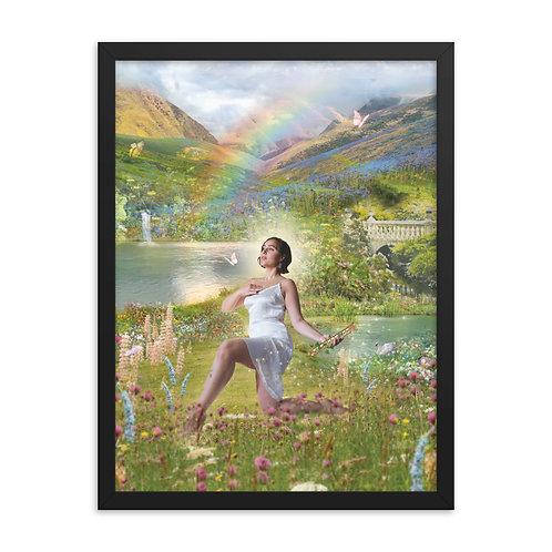 Eostre - Framed poster