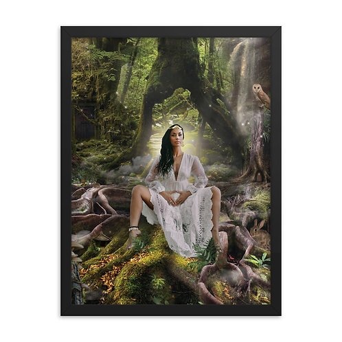 Ariadne - Framed poster