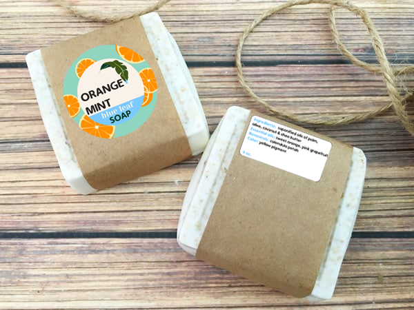 Orange Mint Soap Bar