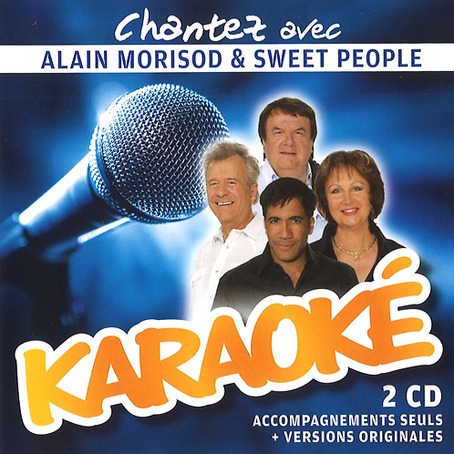 Karaoké - Sweet People - 2CD's
