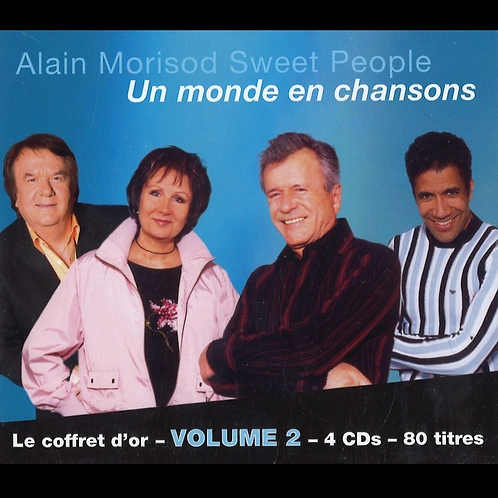 Un monde en chansons, Coffret d'Or volume 2 - Sweet People