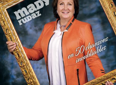 MADY RUDAZ en 50 chansons inoubliables