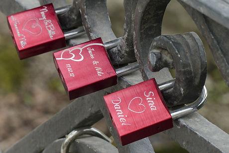 Engraving Service Engraved Lock