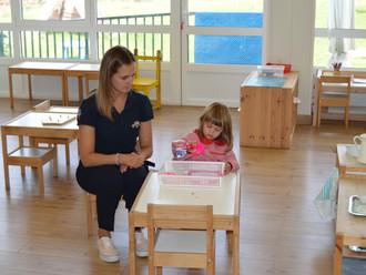 Puertas abiertas en Montessori