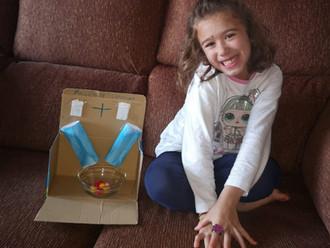 Infantil crea una máquina de sumar