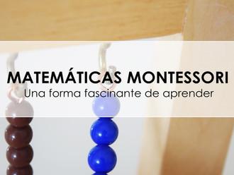 Café coloquio: Matemáticas en la filosofía Montessori