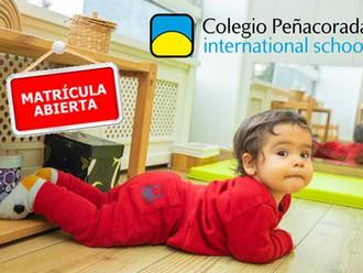 Matrícula abierta para Infantil
