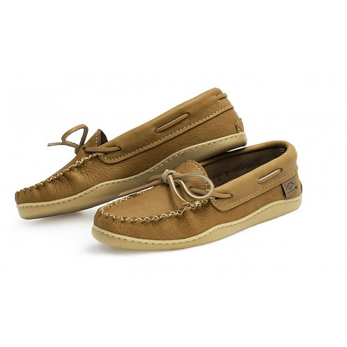 Women's Moccasin with Sole in Natural