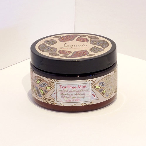 Sequoia Face Scrub - Tea Tree Mint