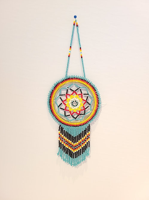 "2.5"" Beaded Dreamcatcher - Patricia Smith"