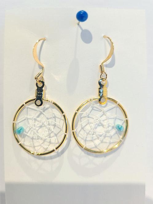 """.75"""" Dreamcatcher Earrings - Mary Stevens"""
