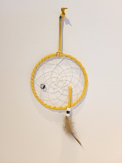 "5"" Single Feather Dreamcatcher - Mary Stevens"