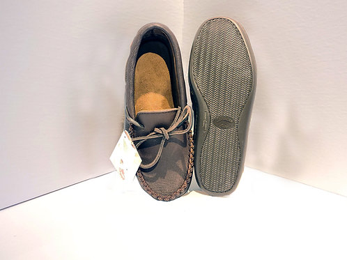 Moccasins with Padded Sole, Fudge