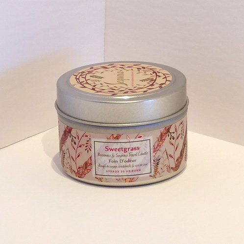 Sequoia Sweetgrass Candle