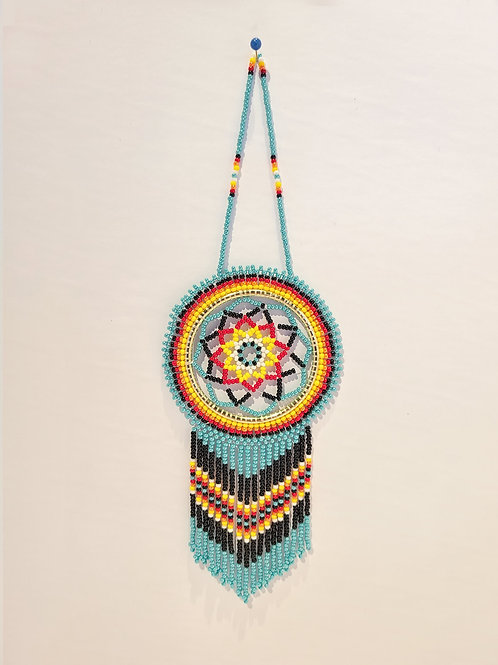 "2"" Beaded Dreamcatcher - Patricia Smith"