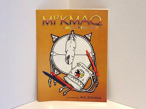 Mi'kmaq Colouring Book by Art Stevens