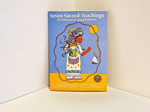 Seven Sacred Teachings - Niizhwaaswi Gagiikwewin by David Bouchard