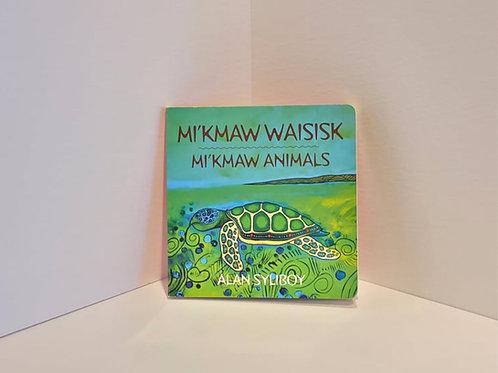 Mi'kmaw Animals by Alan Syliboy