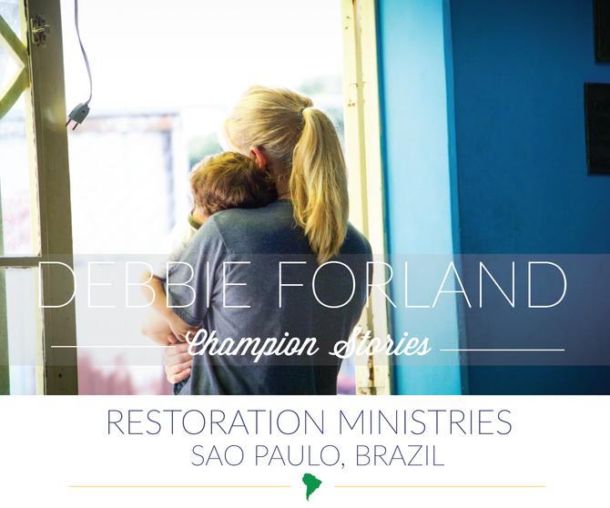 Brazil Mission Trip-Debbie Forland