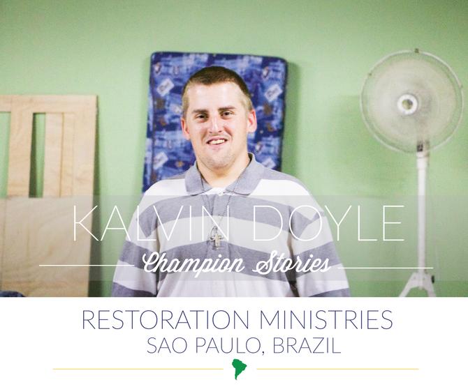 Brazil Mission Trip-Kalvin Doyle