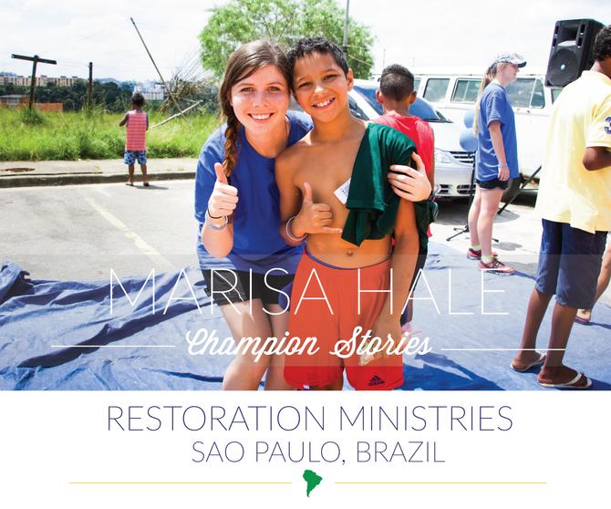 Brazil Mission Trip-Marisa Hale