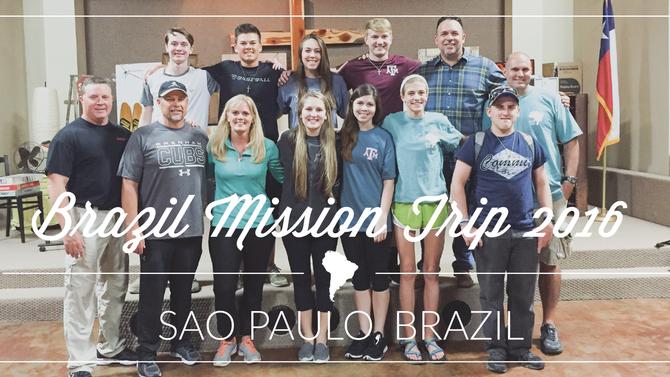 Brazil Mission Trip 2016