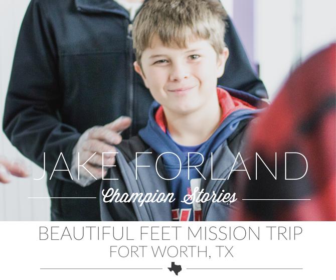 Beautiful Feet Mission Trip- Jake Forland