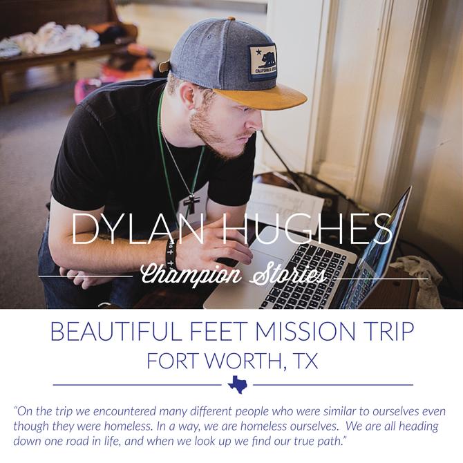 Beautiful Feet Trip- Dylan Hughes