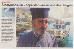 Kalymnos Article Ouest France