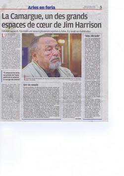 article sur Jim Harrison