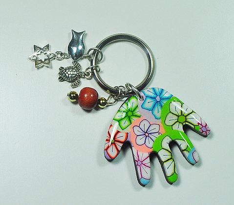 מחזיק מפתחות - למזל וברכה