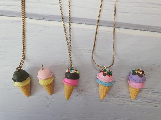 תליון גלידה לילדות