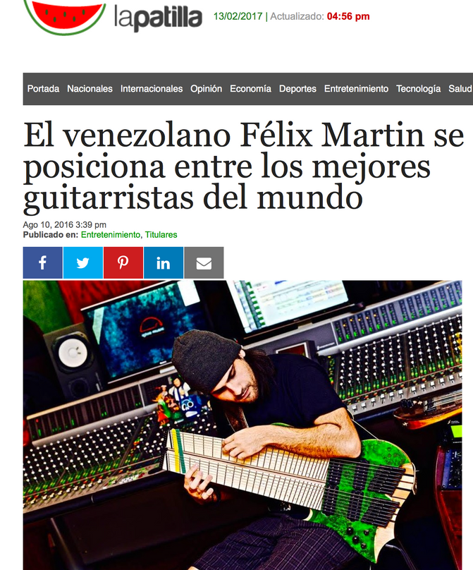 La Patilla / Noticias 24 article (Spanish)