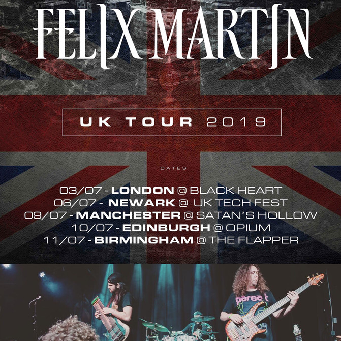 UK Tour in July!