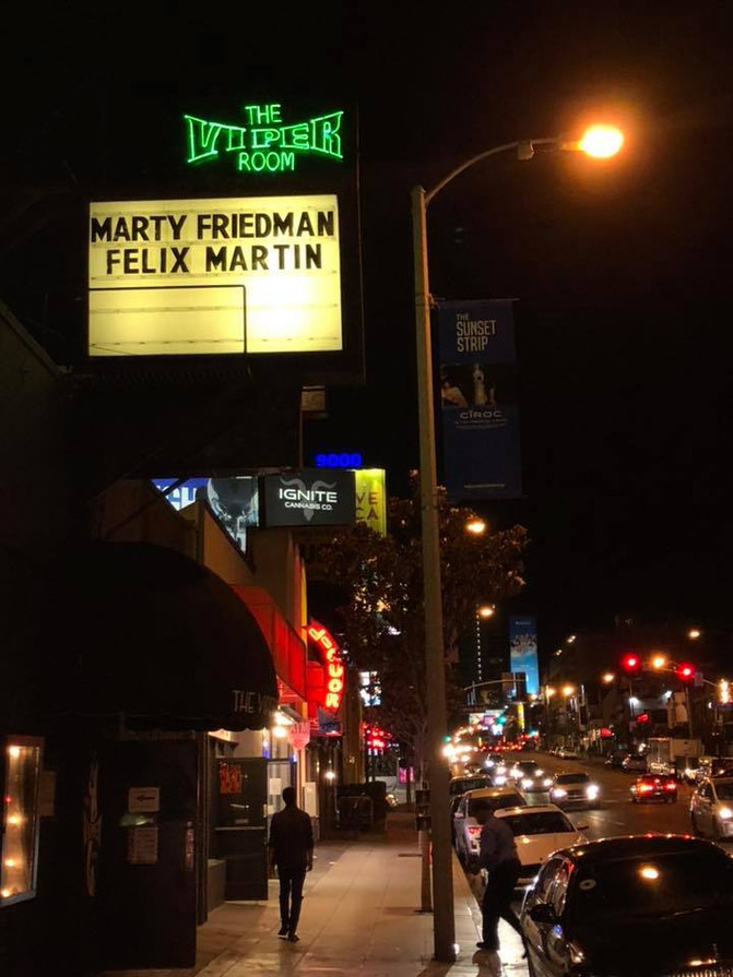 Felix Martin + Marty Friedman