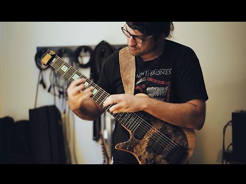 Van Halen Dreams Arrangement Tapping Lesson (Fast and Slow)