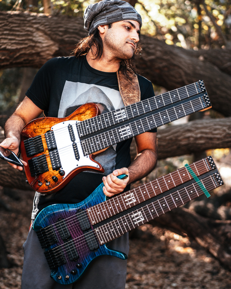 fm guitars felix martin 14 string guitar