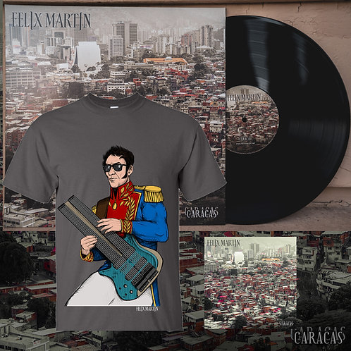 Vinyl + CD + Bolivar T-shirt