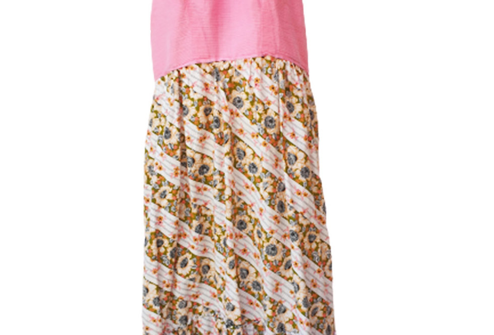 Robe rose dos nu - Taille S - 36/38