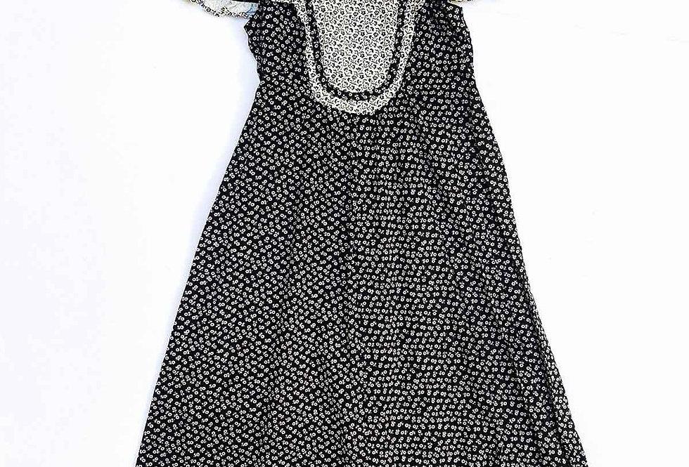 Robe Fleurie Volantée - Taille 34