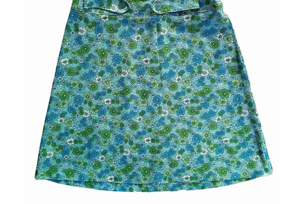 Jupe nylon petites fleurs - Taille 42