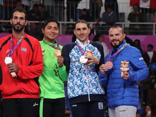 Molina logra bronce en los Juegos Para panamericano de Lima