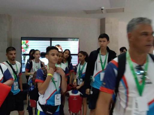 Selección Nacional Estudiantil de Taekwondo arribó a Honduras