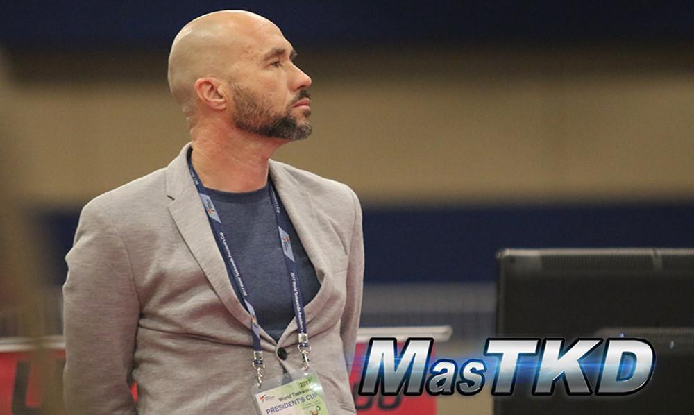 Phillipe Pinerd es el nuevo jefe de entrenadores de Costa Rica. Foto: MasTKD.com