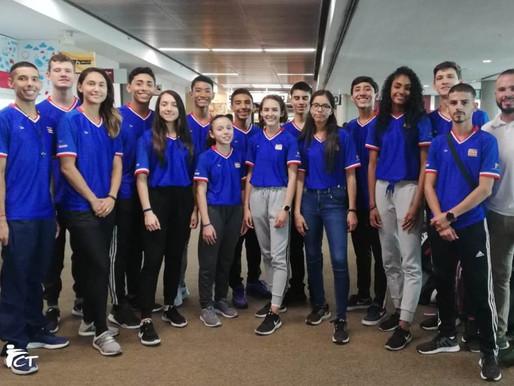 Selección de Taekwondo viajó al Panamericano de Portland