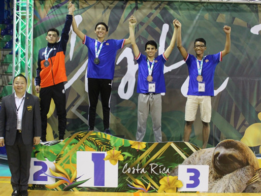 Costa Rica cierra una gran segunda jornada en el Open de Taekwondo