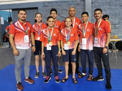 Costa Rica logra cinco medallas en Juegos  CODICADER Honduras 2019