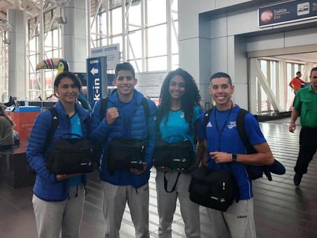 Selección de taekwondo partió rumbo a  Lima