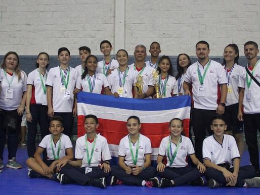 Taekwondo cierra de gran forma juegos CODICADER Honduras.