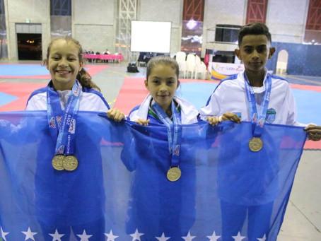 San José gran ganador de primera jornada en el taekwondo de los JDN-2019